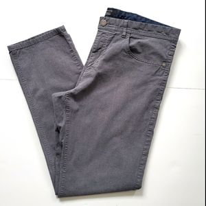 R&W Straight Fit Grey Pants Size 34